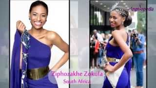 Miss Universe 2014 Contestants from Africa