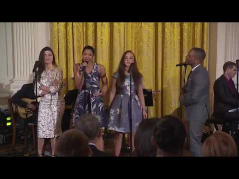 "Hamilton At The White House ""The Schuyler Sisters"""