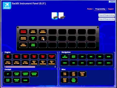 Видео № 0 из игры Saitek Pro Flight Backlit Information Panel