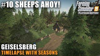 Geislesberg Timelapse #10 Building The Sheep Pasture,Farming Simulator 19 Seasons