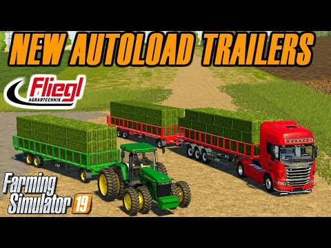 Farming Simulator 2019 | How to Quickly Load Bales from the