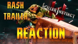 Killer Instinct Season 3 -Rash Trailer   HKsmash Reaction