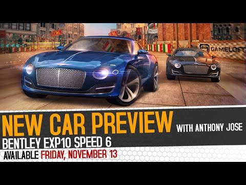 CAR PREVIEW – Bentley EXP 10 Speed 6