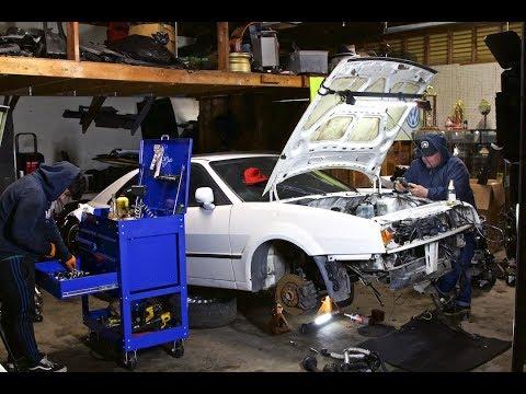 VW CORRADO SWAP VR6 3 2 24V From a Touareg ***** Pt 3 ***** - PNW