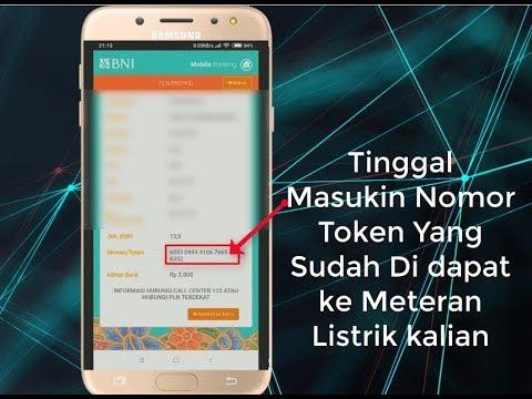Tutorial Cara Membeli Token Listrik Menggunakan Aplikasi BNI Mobile Banking