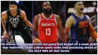 Damian Lillard does it all at 2019 NBA All-Star Game festivities