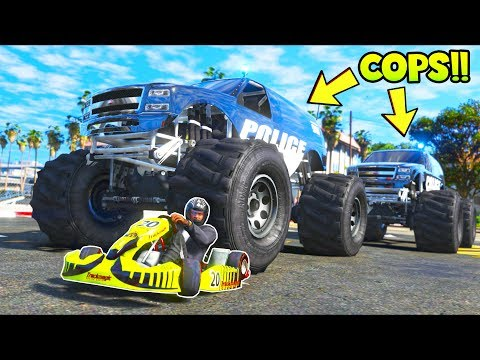 Download Replacing Cop Cars With Monster Trucks Was A Bad