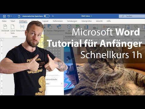 Word-Tutorial für Anfänger – Grundkurs Microsoft Word (2021)