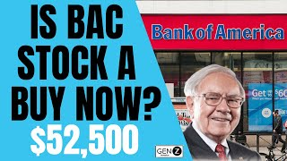 Is Bank of America A BUY NOW? Undervalued Dividend Stock TO BUY NOW!