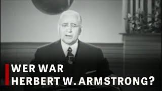 Wer war Herbert W. Armstrong?