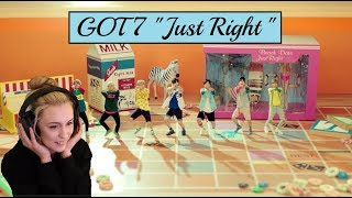 "GOT7 ""Just Right(딱 좋아)"" MV [Reaction]"