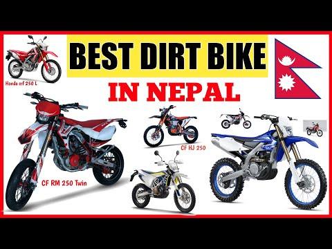 Best dirt bike in Nepal | CF RM 250 Twin | CX 250 R| Honda CRF 250 L Rally |Kayo k6| The Nepali Live
