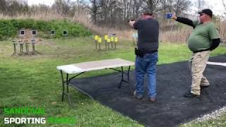 Action Pistol Match at Sandoval Range, Illinois - Shooter 2