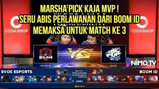 EVOS VS BOOM ID CODASHOP Weekdays Tournament Match 2 | Mobile Legends