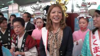 スザンヌ、熊本観光PR「四字熟語では収まらない!」