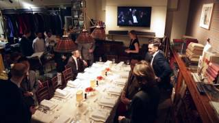 Huntsman Dinner hosted by Simon Crompton of Permanent Style