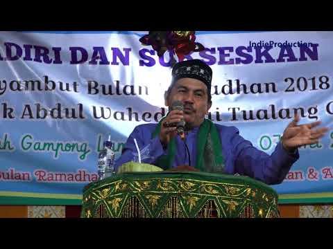 Dakwah Aceh Lucu, Bermanfaat, Tgk. Wahed Terbaru 2018  -  FULL HD
