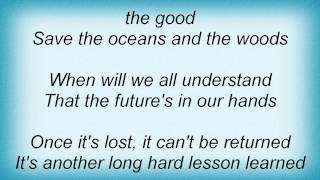 John Anderson - Long Hard Lesson Learned Lyrics