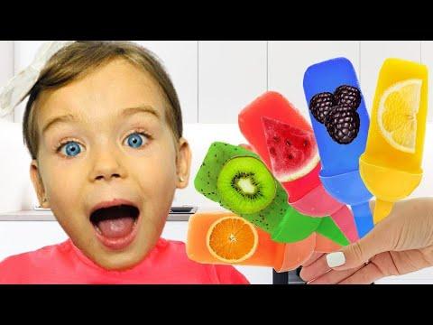 София делает вкусное мороженое