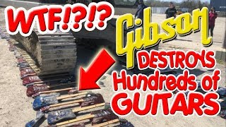 GIBSON GUITAR DESTRUCTION! - Firebird X VIDEO MAKER Speaks Out!!