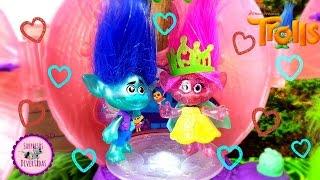 ❦ TROLLS ❦ La Coronación De La Princesa POPPY  Juguetes Película Trolls