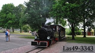 preview picture of video '[ Kolejka Rudy ] Las49-3343 w w Parku Śląskim - Chorzów 2014-06-19'