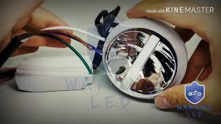 Lampu LED Projie U54 Motor Mobil Hi Low Jauh Dekat AE RGB TERBARU