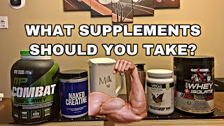 Should You Take Supplements For Muscle Growth? (BEGINNERS)