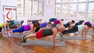 5-Minute Plank Challenge with David Kirsch by Daily Burn