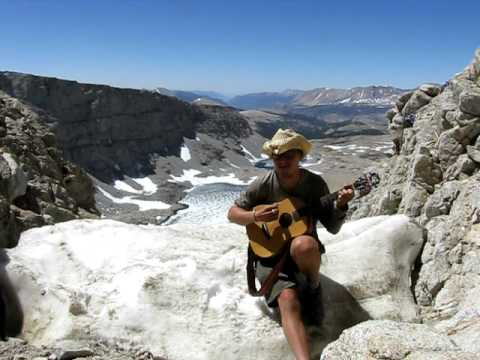 Whale Mountain (by Little Wings)  -- Greg Goad @ Forester Pass, PCT 2008