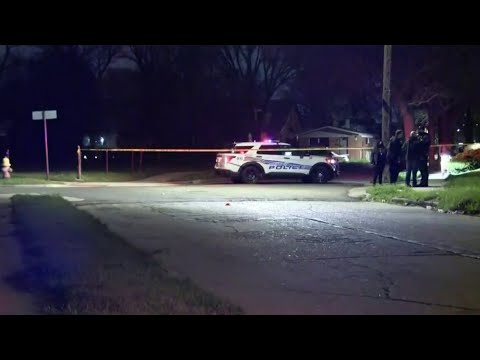 4 people shot at vigil on Detroit's east side