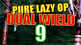 Skyrim Pure Lazy OP Dual Wield Walkthrough Part 9: The Mega Nordic Barnacle Run