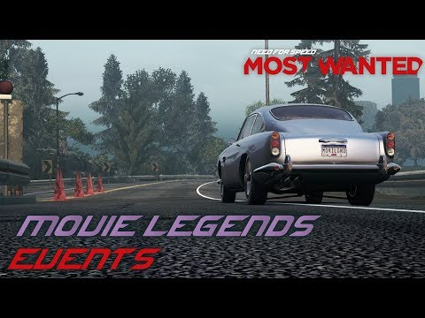 Need For Speed: Most Wanted (2012) - Movie Legends Pack Events (PC)