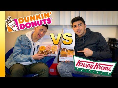 Dunkin vs Krispy Kreme   Donut Review   Impulsive Traveler