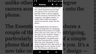 Android: Scroll-To-Dismiss