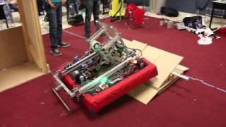 ROULT 4403 FRC Robot reveal 2016