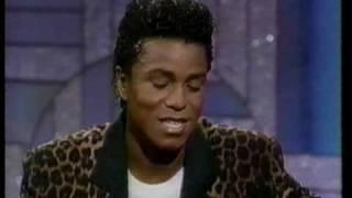 Jermaine Jackson at Arsenio Hall 1989 (part 1 of 2)