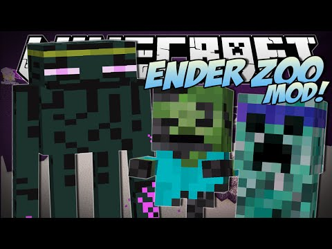 Minecraft | ENDER ZOO MOD (Undead Warriors, Enderminys & More!) | Mod Showcase