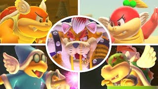 Super Mario Maker 2 - All Bosses (No Damage)