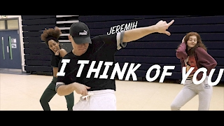 Jeremih - I Think Of You Ft Chris Brown & Big Sean | Chris Clark Choreography