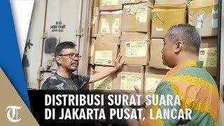 Distribusi Surat Suara di Jakarta Pusat, Berjalan Lancar