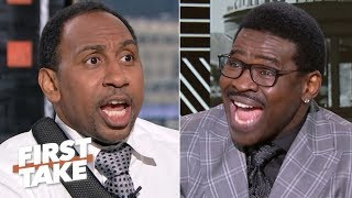 Stephen A. slams Michael Irvin's reasons the Cowboys will win the Super Bowl | First Take