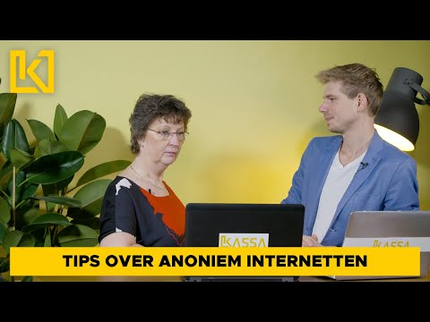 Technisch leven tip 4 - Anoniem Internetgebruik
