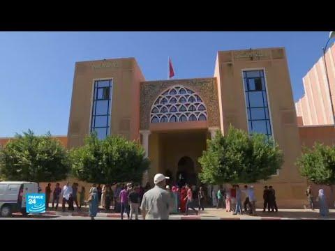 العرب اليوم - شاهد : القاصر خديجة ضحية الاغتصاب تؤكّد أقوالها أمام قاضي التحقيق