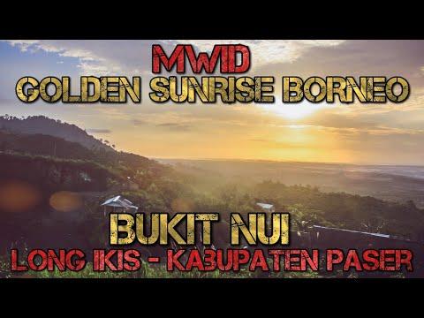 Golden Sunrise Borneo: Bukit Nui - Paser