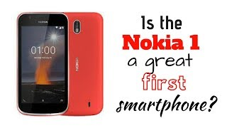 Is the Nokia 1 a great first smartphone? Initial thoughts and unboxing.