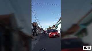 preview picture of video 'Jalan jalan sore muter kota serang'