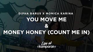 Dipha Barus X Monica Karina   You Move Me And Money Honey (Count Me In) | Live At Kumparan