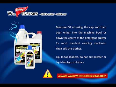 Whitomatic Liquid Detergent