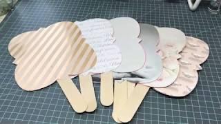DIY Wedding Favors Created on my Cricut